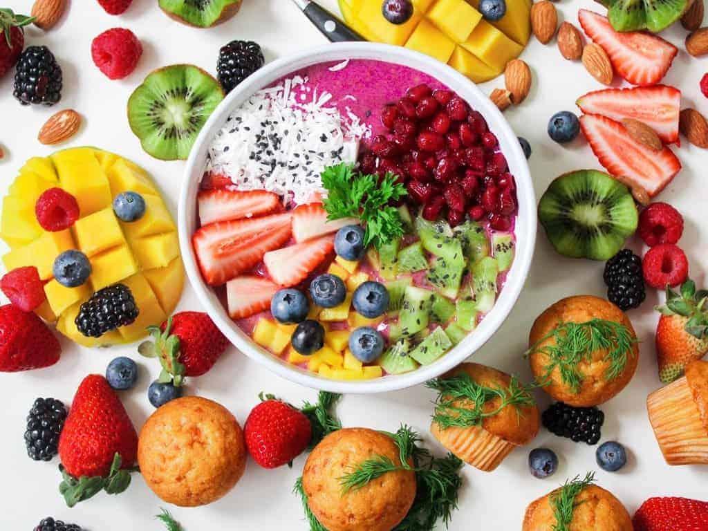 berries plus fruit