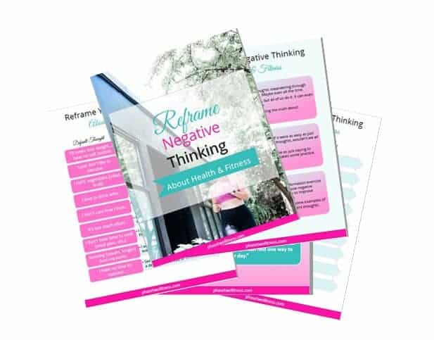 Reframe your thoughts sample