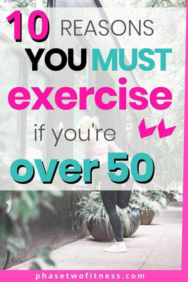 Why you must exercise if you're over 50