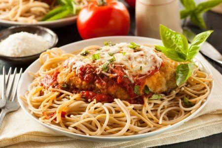 low nutrient density chicken parmesan