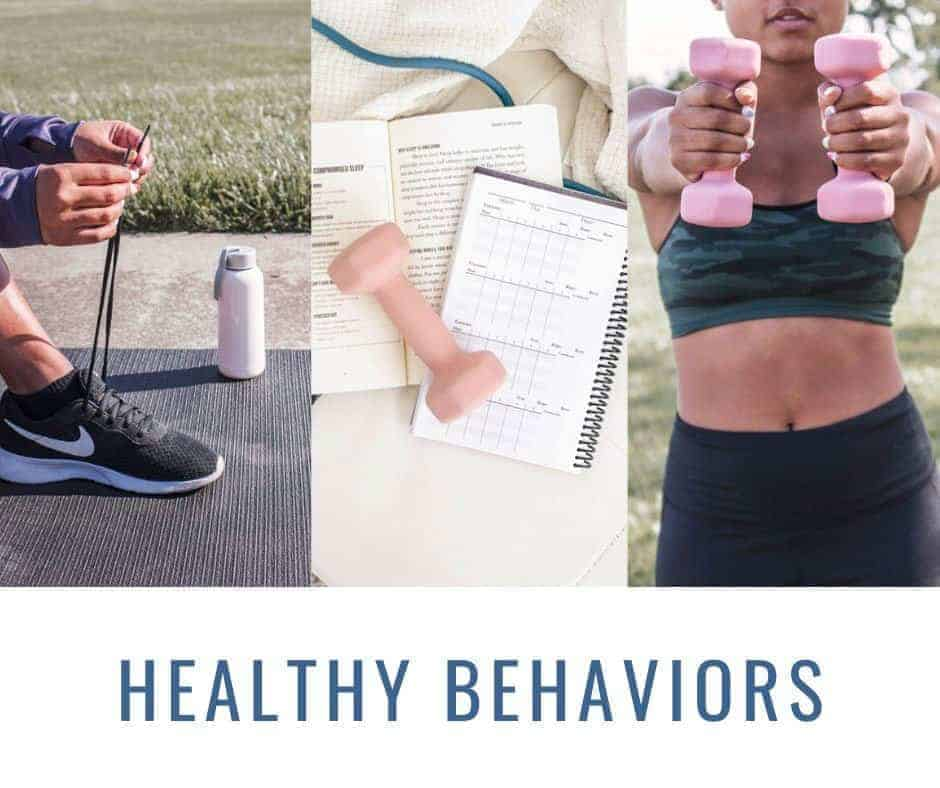 examples of healthy behaviors