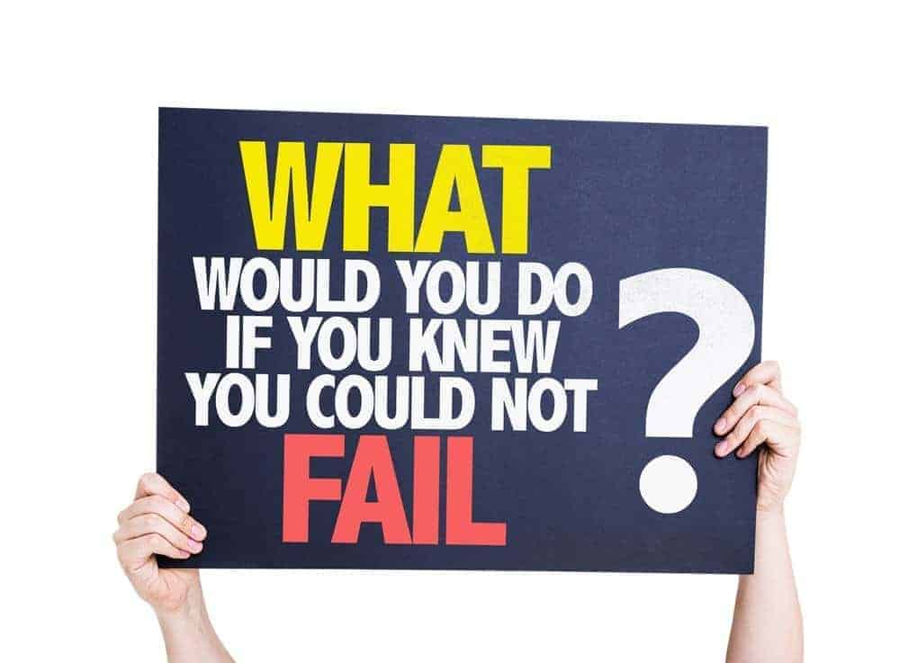 What would you do if you knew you could not fail to overcome the obstacles to weight loss?